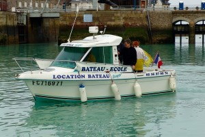 photo boyer bateau ecole