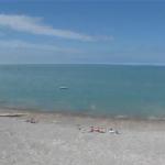 Webcam et météo – Saint Valery en Caux – Vue du Jardin des mers