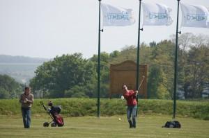 golf approche green