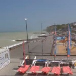 Webcam – Veules les Roses – Vue du Point Plage