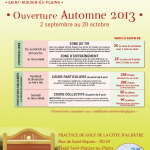Golf : cycle automne 2013