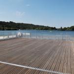 Webcam – Lac de Caniel – Vue de l'école de voile