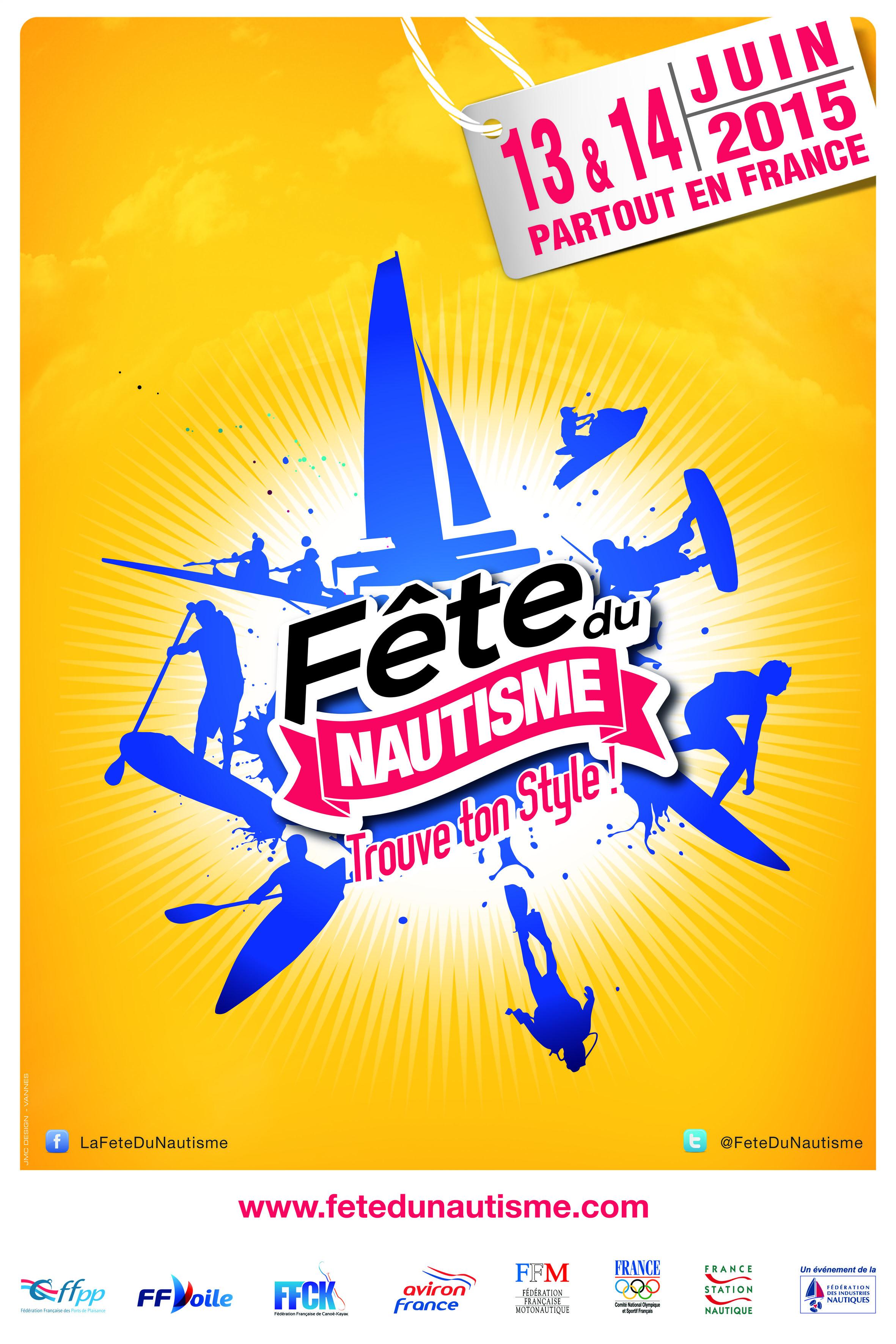Affiche Fête du Nautisme 2015