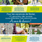 Les activités proposées pendant les vacances d'hiver 2019