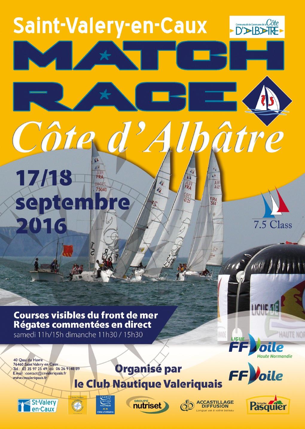 Affiche Match Race 2016