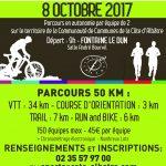 Le 8ème Raid Albâtre aura lieu le 8 octobre 2017 – Inscrivez-vous dès maintenant