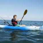 Le kayak pêche et le longe côte