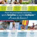 Les activités proposées aux vacances d'automne 2019